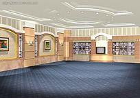 会议厅3D设计图