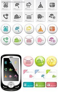 手机功能图标设计