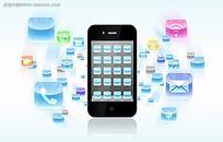 手机通讯设备PSD素材