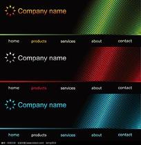 网页封面设计