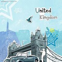 英国旅游广告宣传图