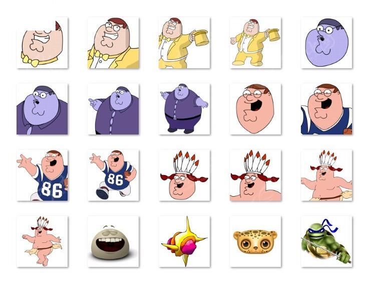 卡通人物表情设计
