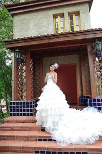 魅力美女婚纱摄影图