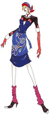 民族服装设计手绘图