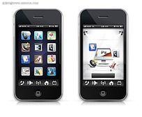 时尚手机立体APP图标