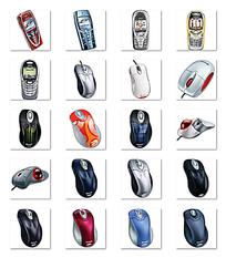 鼠标手机小图标