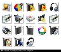 个性网页图标设计素材