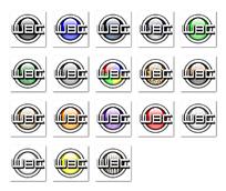 简洁图标按钮png格式设计图
