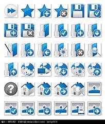 简洁小图标png格式模板素材