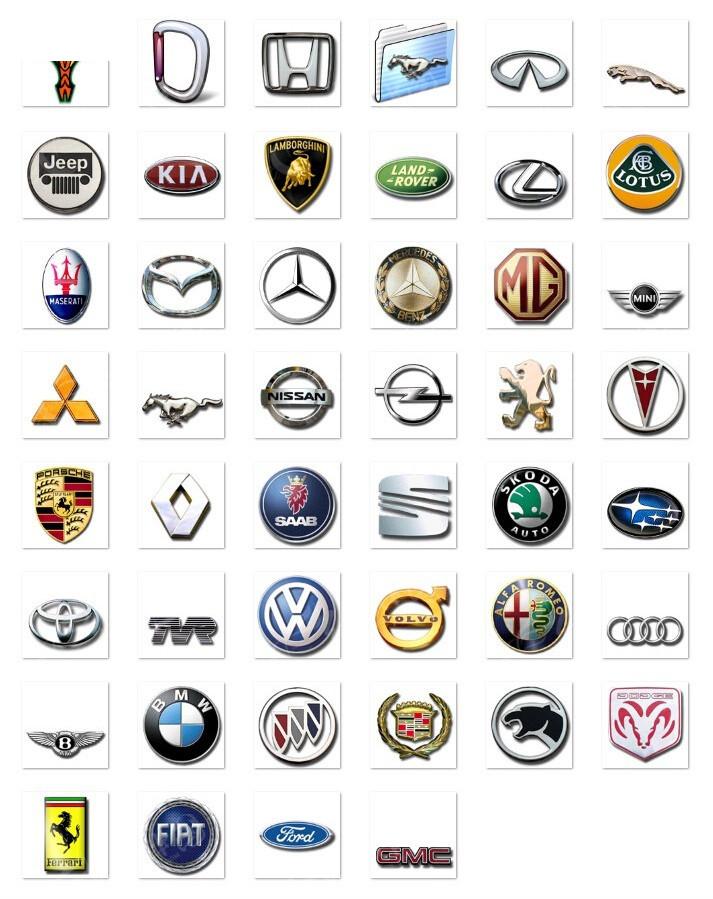 小轿车标志_小轿车标志图片大全图片
