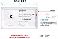名片类网页背面AI格式设计