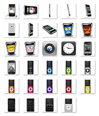 苹果电子设备可爱造型设计