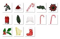 圣诞节小图标设计