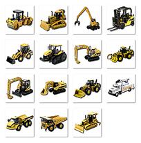挖掘机图标设计