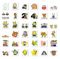 网页常用卡通小图标png格式图