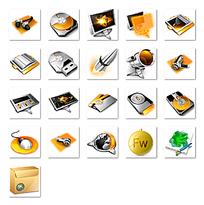 网页图标png格式设计模板
