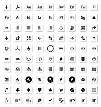 网站小图标png格式设计模板