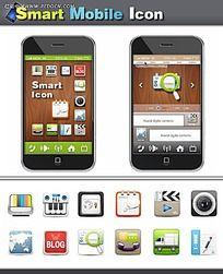 手机软件排版设计图标