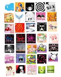 网页卡通图像