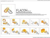 FLASH英文宣传图片轮播设计模板下载