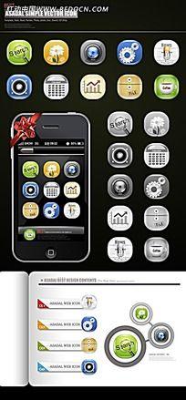 关于手机主题图标的使用说明