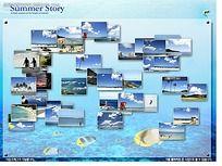 海上风光相册FLASH图片轮播设计