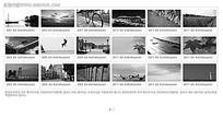 黑白相片FLASH图片轮播设计素材下载