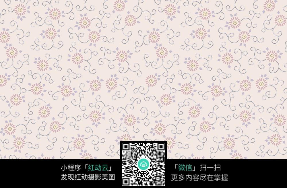 浅色花纹背景图图片