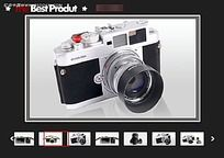 相机系列图片循环播放