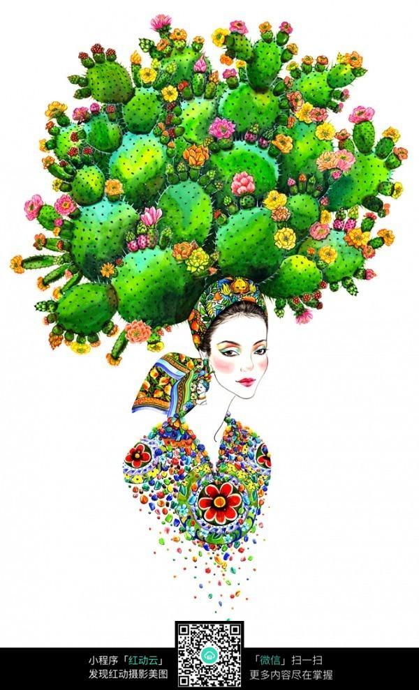 创意时尚服装设计手绘稿图片