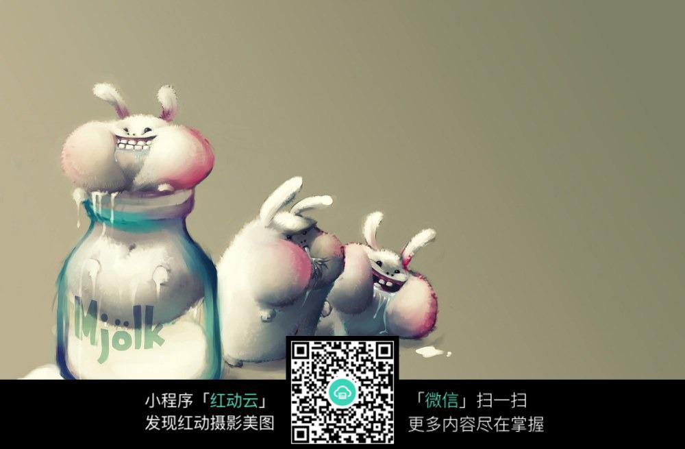 免费素材 图片素材 背景花边 其他 卡通小动物壁纸  请您分享: 红动网