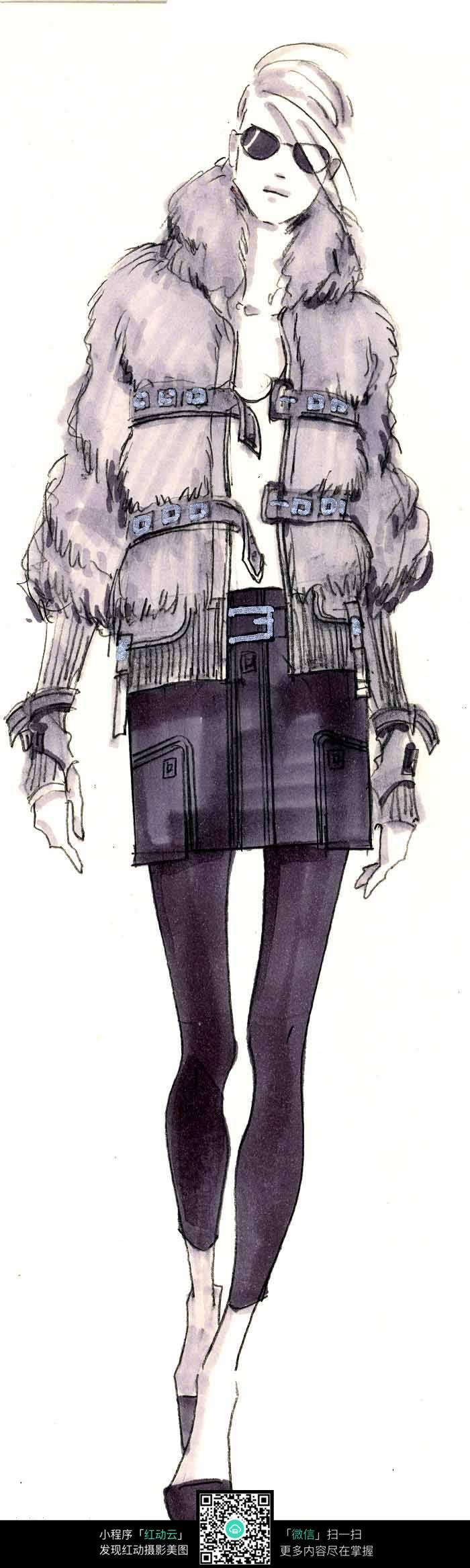 服装设计手绘稿