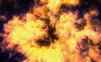 燃烧的熊熊大火图片