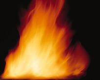 跳耀的火焰图片