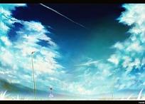 唯美天空图
