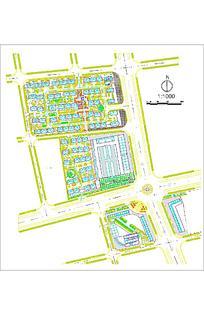 小区规划设计及分析图