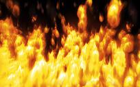 熊熊燃烧的大火图片