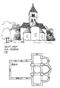 房子钢笔写生素描图片