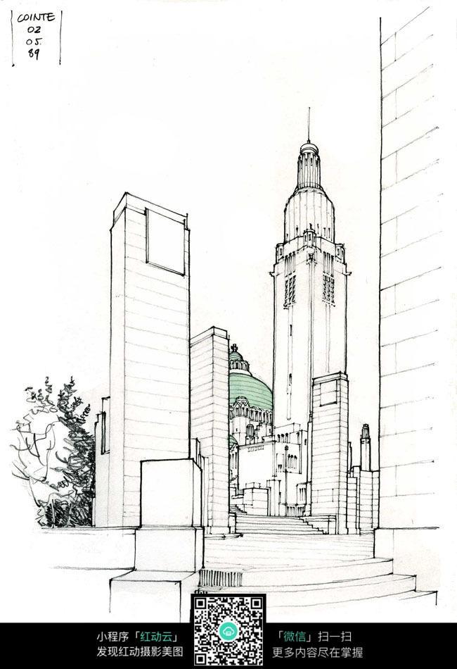 建筑设计手绘图图片_其他图片