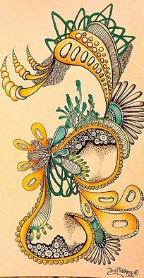 色彩美丽的花纹图案图片-漫画插画|绘画图片下载(编号