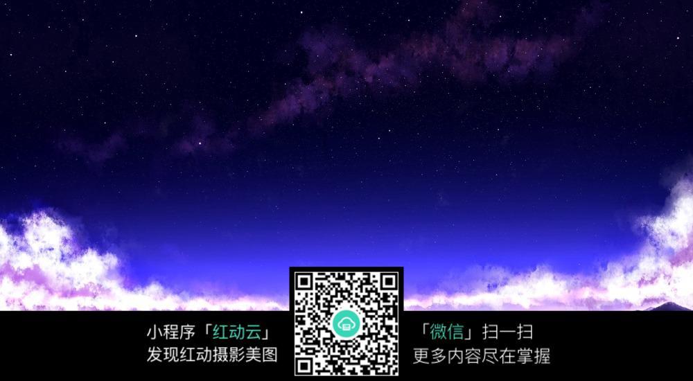 星空樱花树海