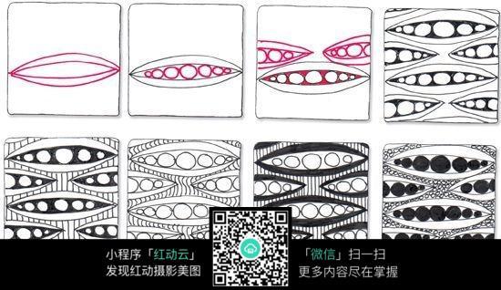 扁圆形创意手绘设计圆形手绘创意设计分享展示  雕塑设计图  脸谱创意