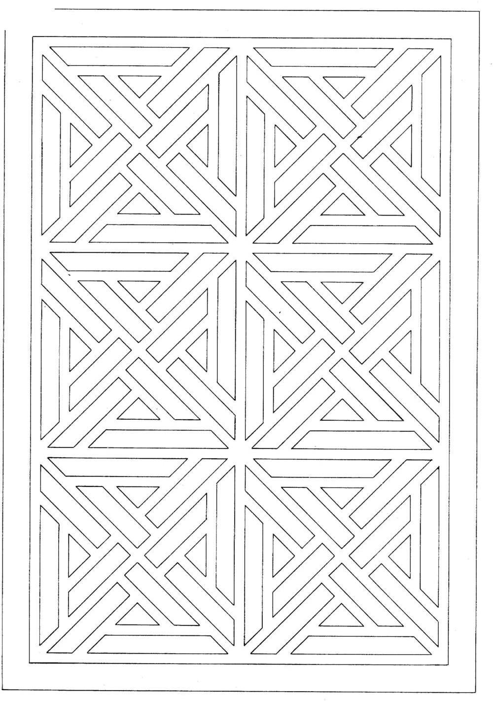 复古镂空装饰花纹tif免费下载图片
