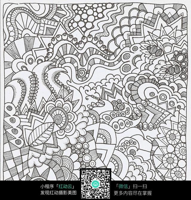 复杂花纹排线jpg格式图片免费下载 编号5132708 红动网
