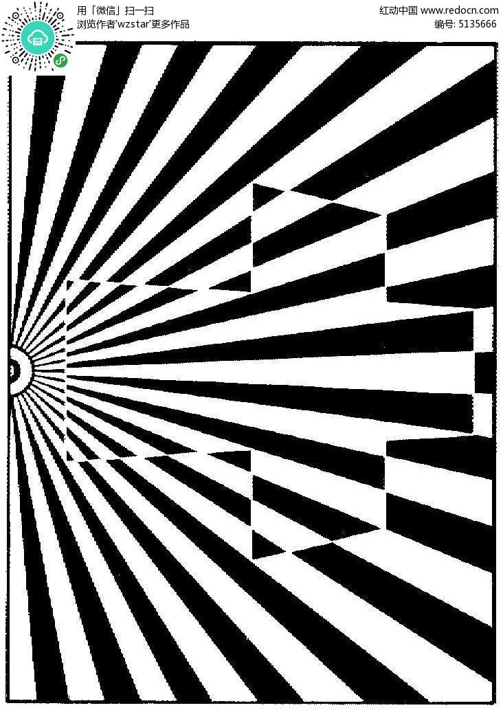 黑白广告设计图案图片