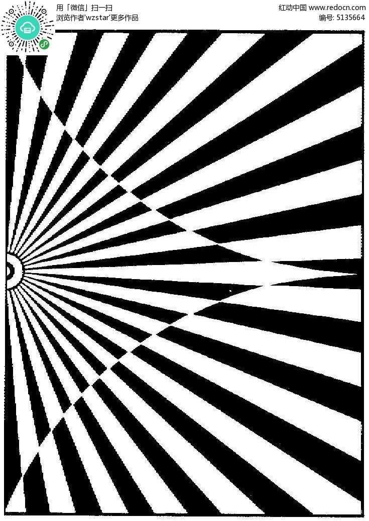 黑白图案背景底纹