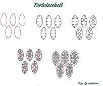 简单手绘花纹流程示意图片