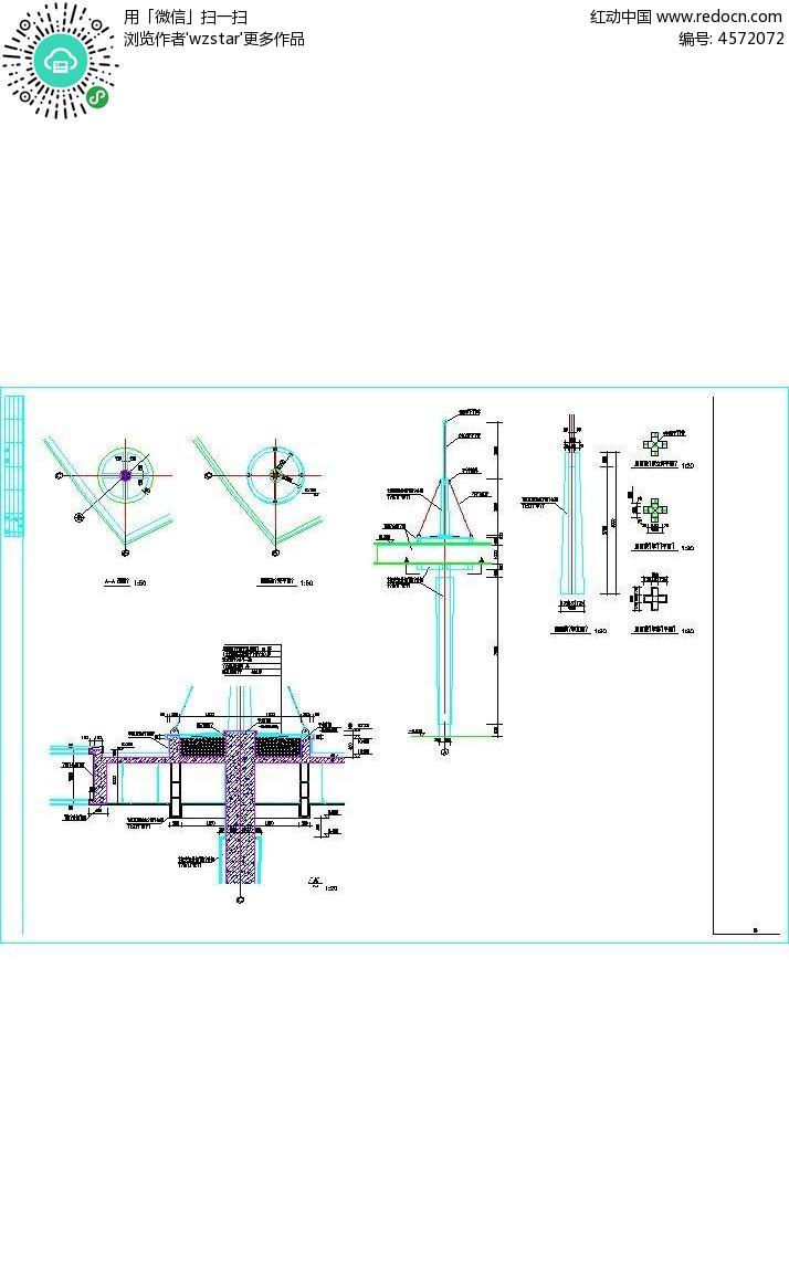 建筑墙体位置3d设计图纸