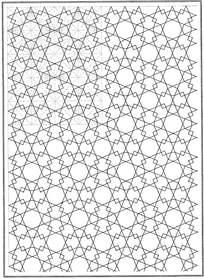 交叉重叠线条花纹