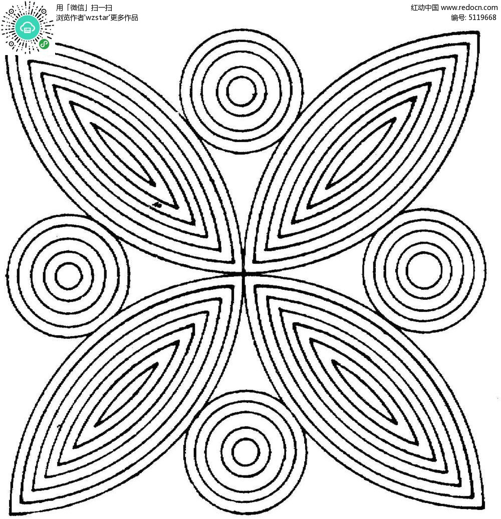 几何现代图案素材图片